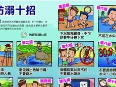 相關圖檔說明:防溺十招-青春專案宣導,圖片總數共1張