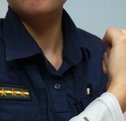 相關圖檔說明:警察節贈袖套善舉 ,圖片總數共3張