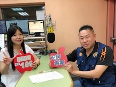 本分局偵查隊副隊長林峻平受邀至警廣新竹分臺《警民之間》犯罪預防宣導