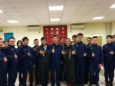 新豐鄉長蒞分局 、慰問辛勞執勤員警