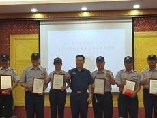 相關圖檔說明:竹東分局辦理義警常訓 有效強化協勤技能共同維護治安,圖片總數共1張