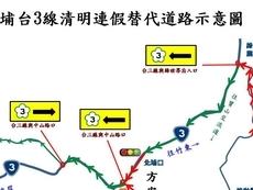 相關圖檔說明:竹東分局110年清明連續假期交通疏導暨高乘載管制措施,圖片總數共6張